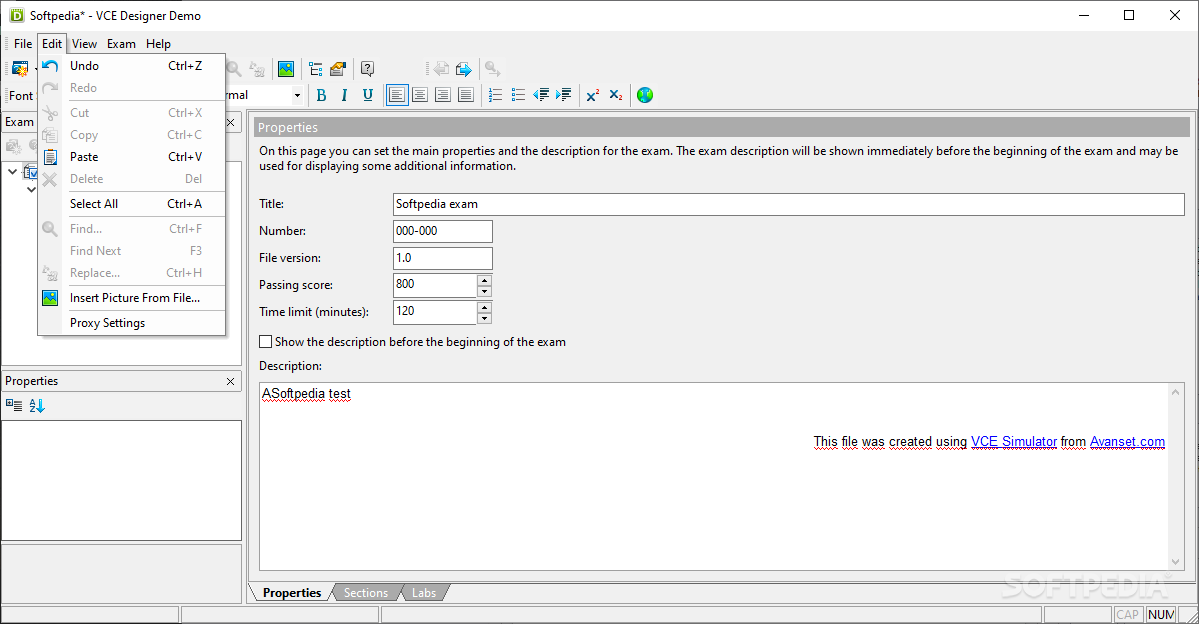 vce exam simulator windows
