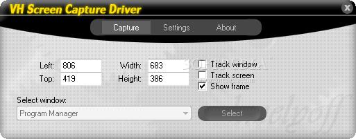 vh screen capture driver mac