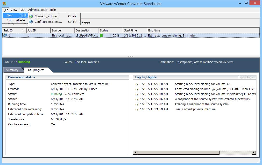 vmware converter download linux