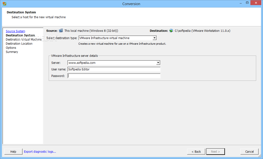 Download VMware vCenter Converter 6 2 0 1 Build 8466193