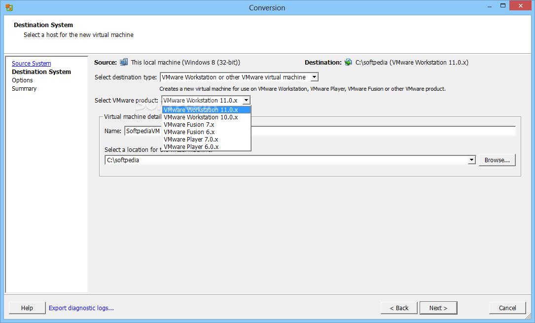 Download VMware vCenter Converter 6 2 0 1 Build 8466193