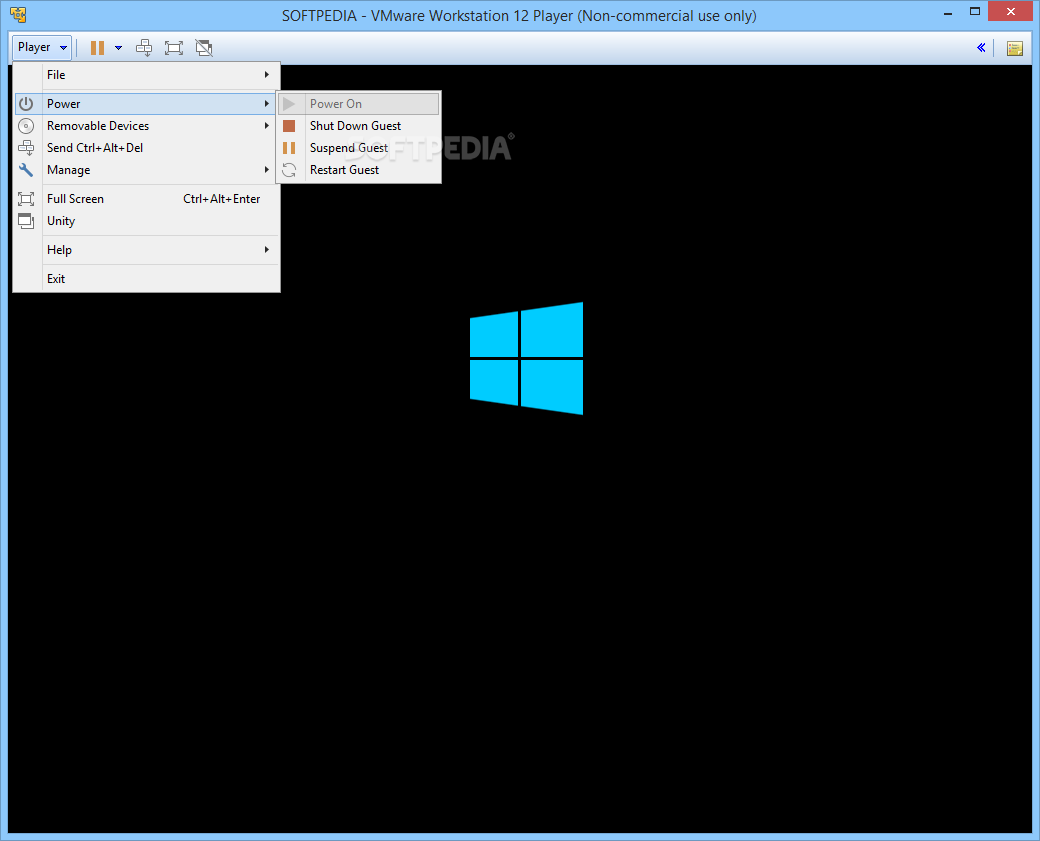 vmware workstation 12 player for windows 64-bit operating systems