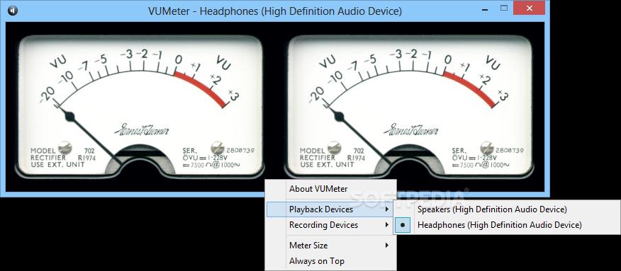 Free Vu Meter Download Yellowkosher