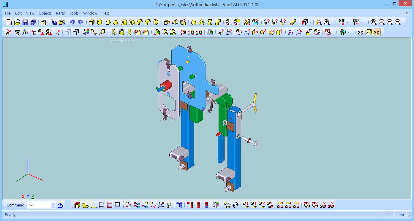 VariCAD 2019 V1.03 Easy Design Of Industrial Parts