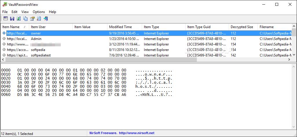Download VaultPasswordView 1 08