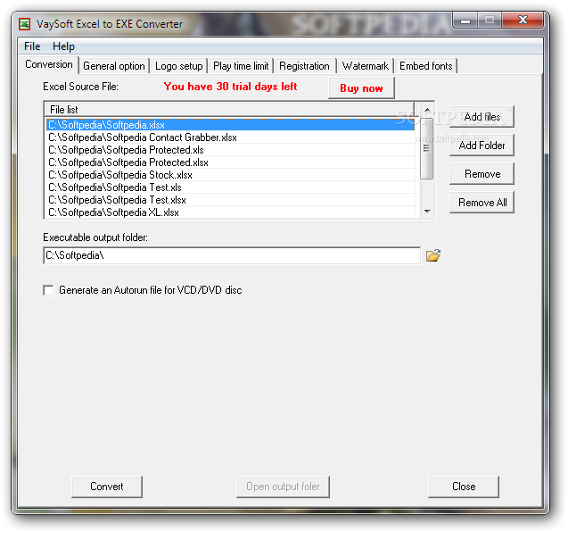 Download VaySoft Excel to EXE Converter 4 33