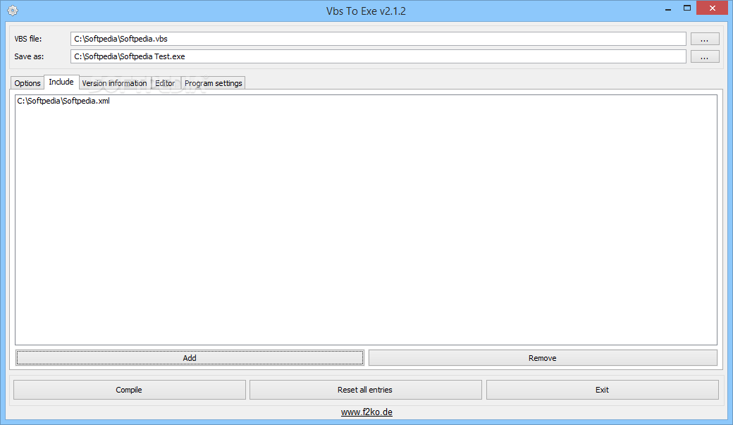 Vbs to exe download
