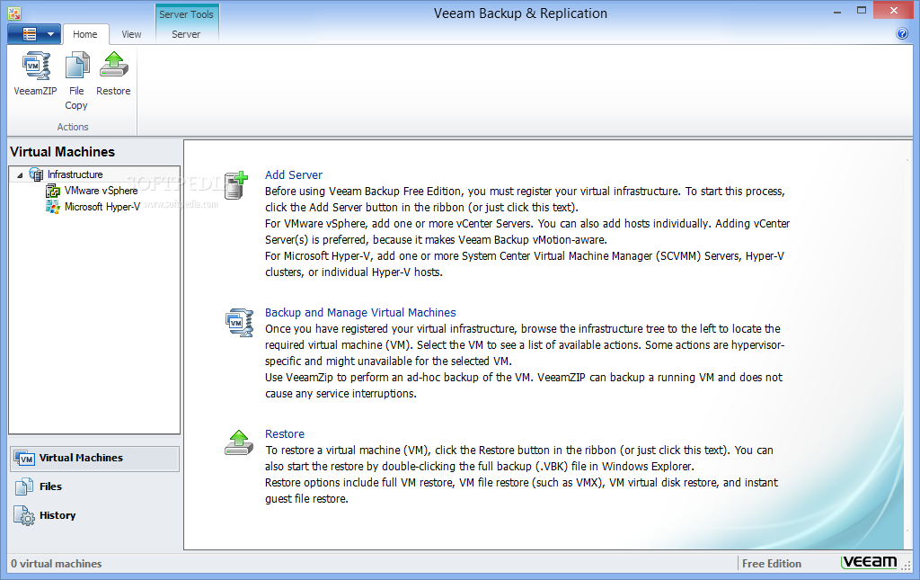 Download Veeam Backup Free Edition 9 5 0 1536 Update 3