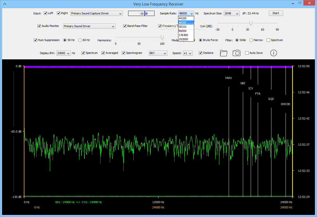 Download Very Low Frequency Receiver 1 0 3