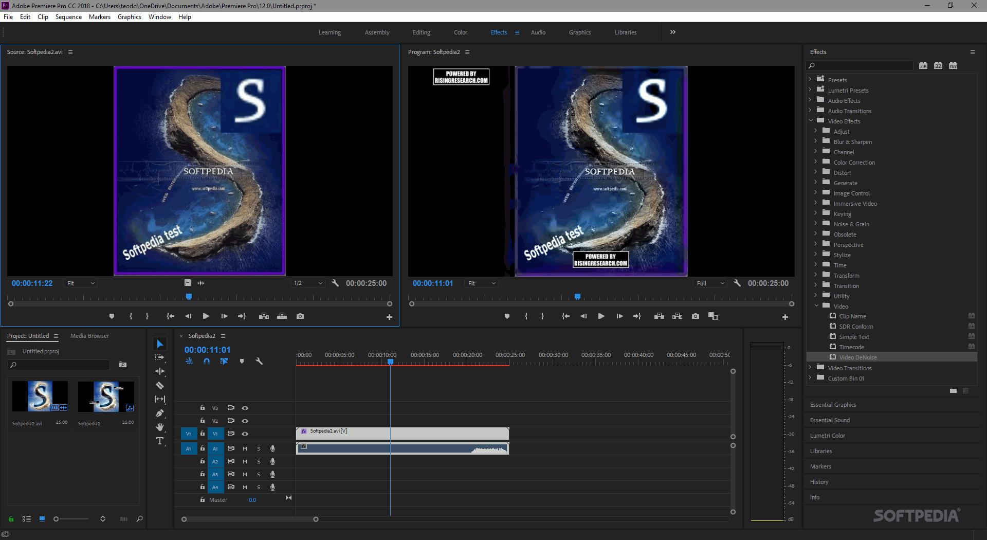 Download Video DeNoise for Adobe Premiere 2 4 5