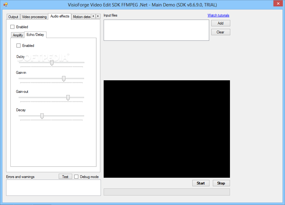 Download VisioForge Video Edit SDK FFMPEG  Net 10 1