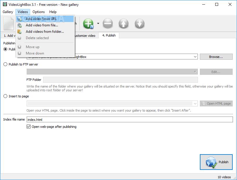 Download Video LightBox 3 1