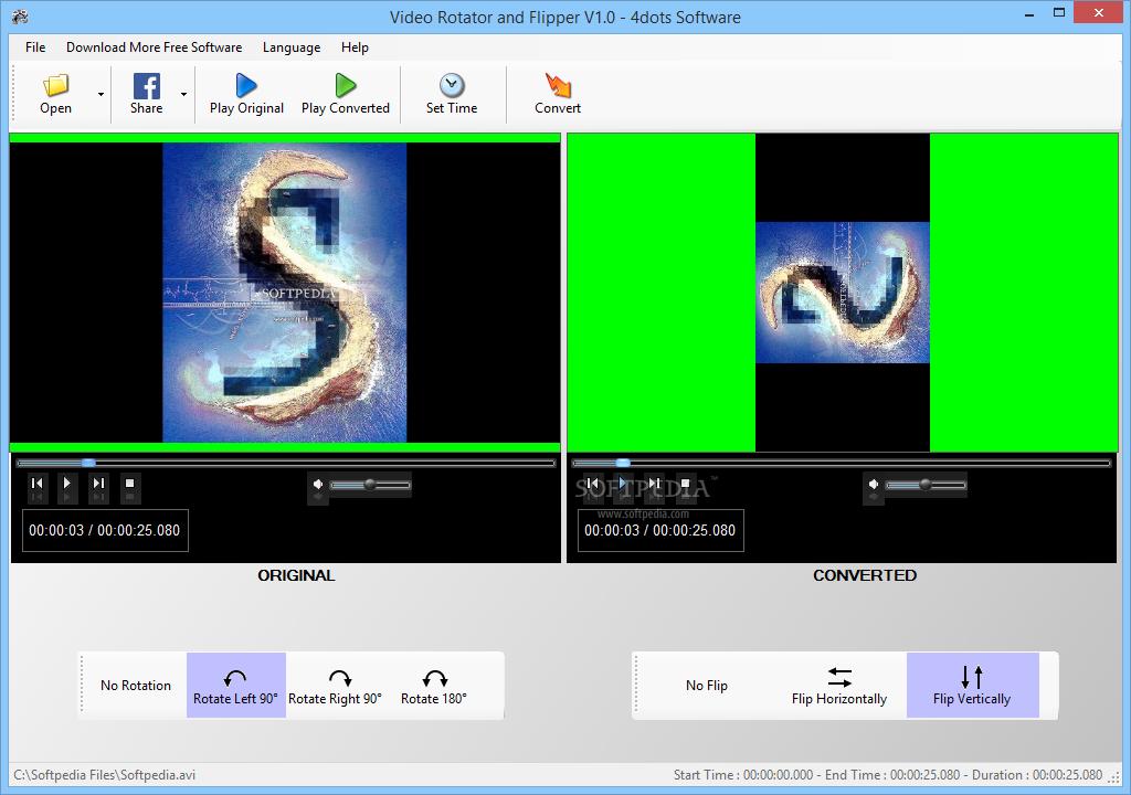video rotator software free download full version