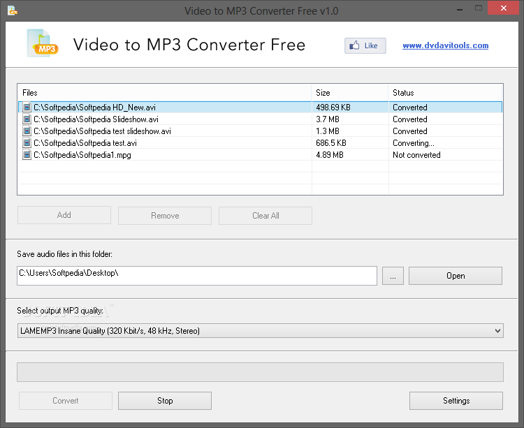 скачать Free Video To Mp3 Converter - фото 11