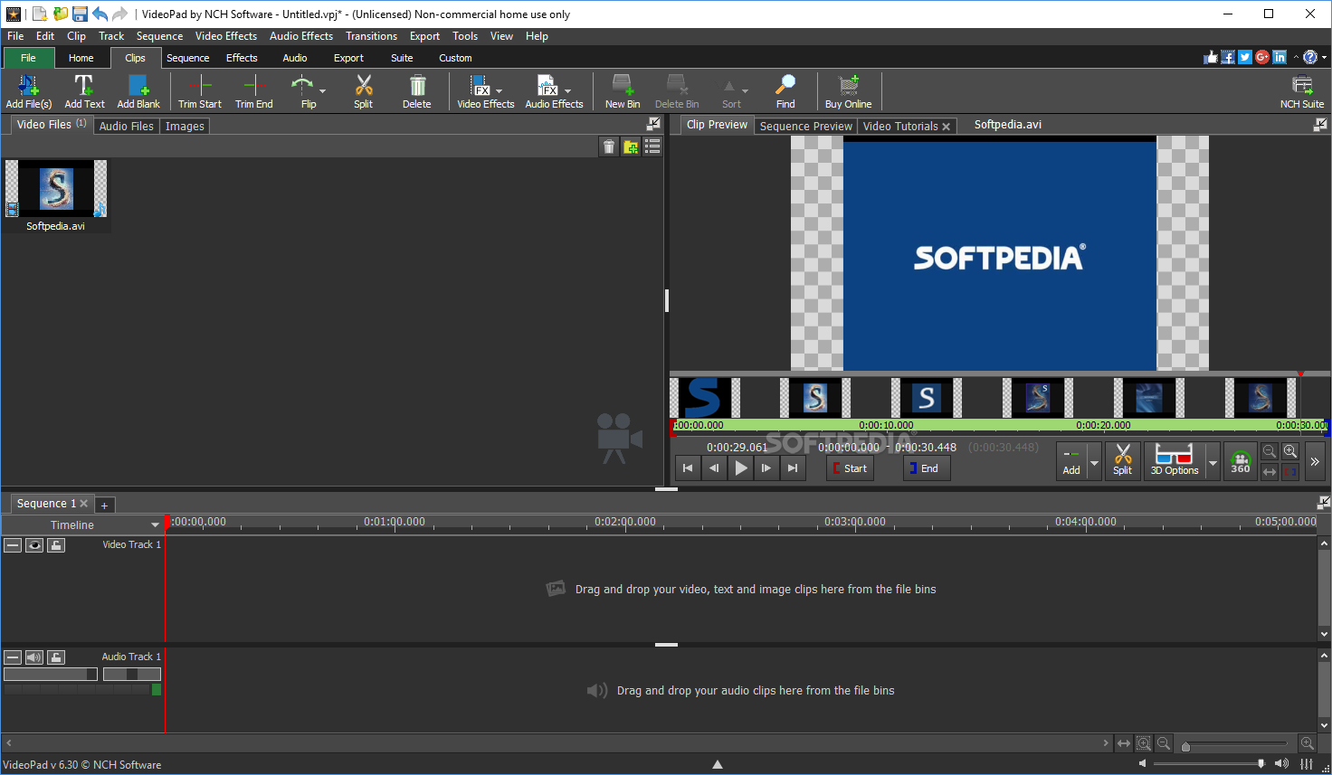 Download VideoPad Video Editor 7 30 Beta