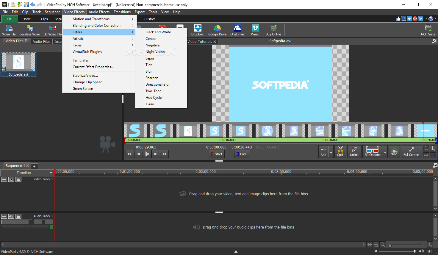 nch video editor code