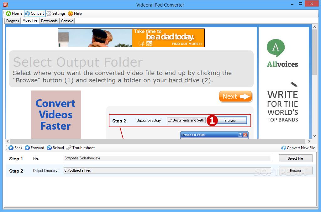 ipod videora converter