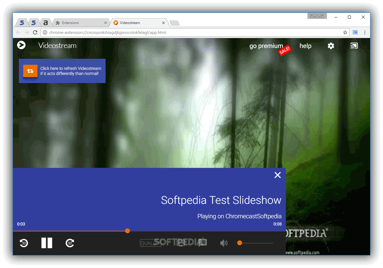 Videostream For Google Chromecast