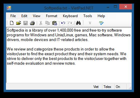 Download VietPad NET 2 4