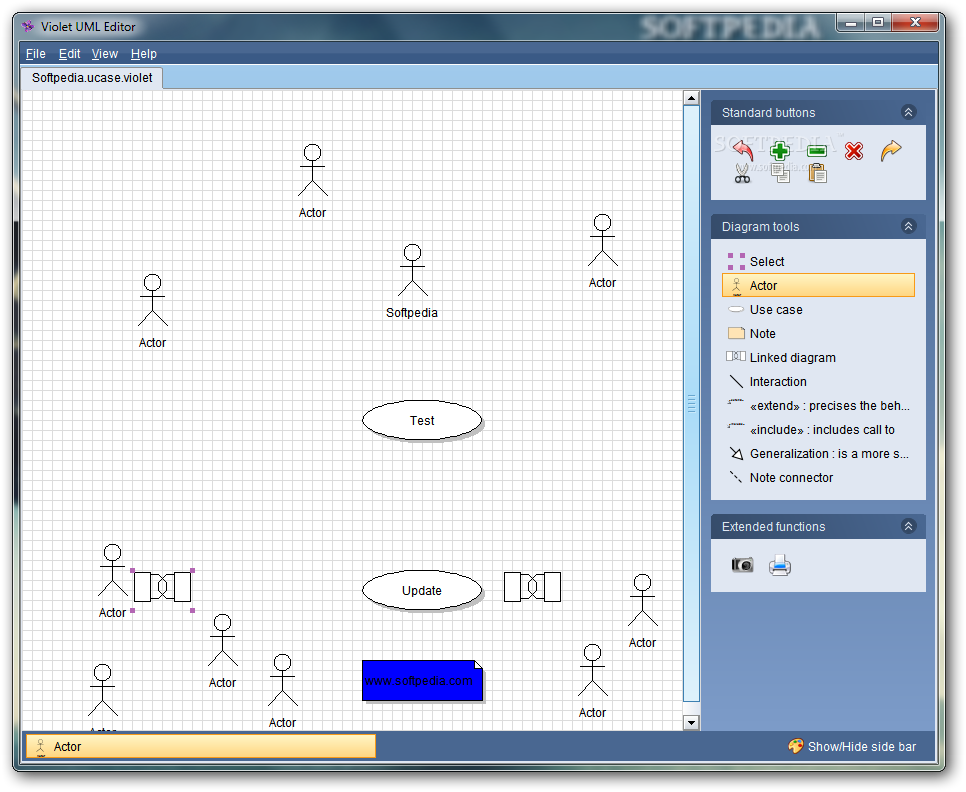 Download Violet UML Editor 3.0.0