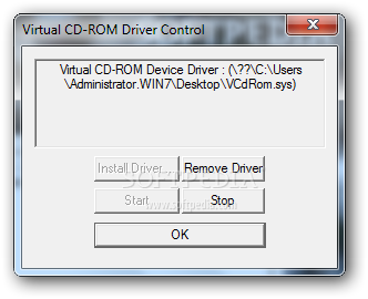 Virtual CD-ROM Control Panel Download