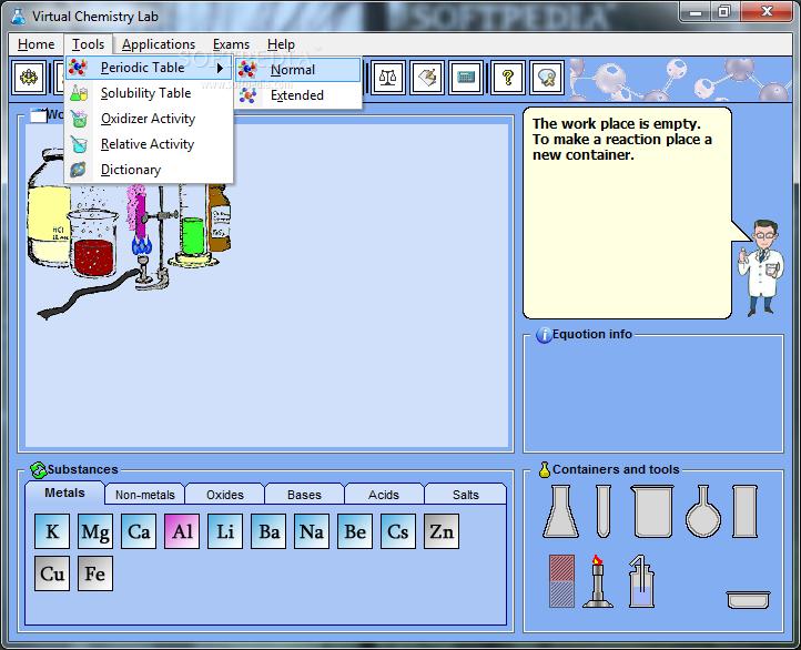 Download virtual chemistry lab 20 urtaz Gallery