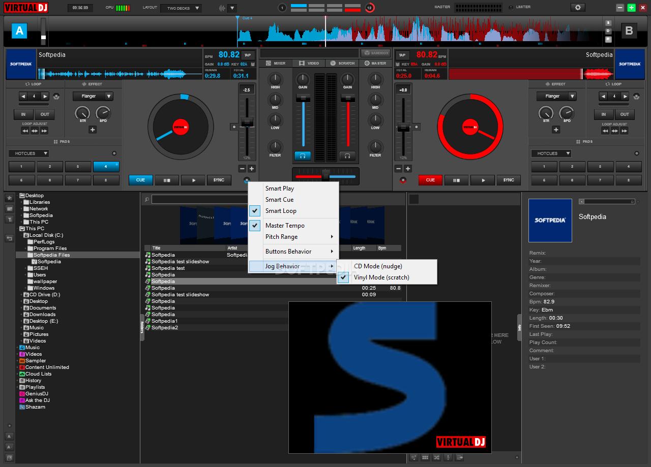 Virtual DJ Free Download for Windows 10 7 8/ (64 bit/32 bit)