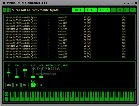 Coolsoft virtual midi synth v2. 5. 4 for windows xp (sp3), / vista.