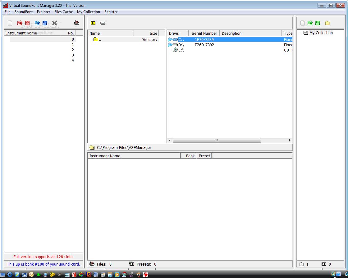 Download Virtual SoundFont Manager 3 20
