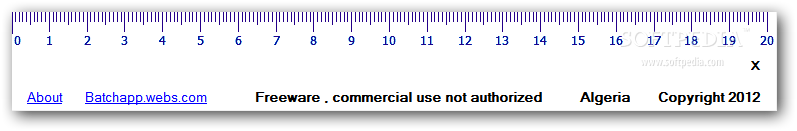 desktop ruler portable