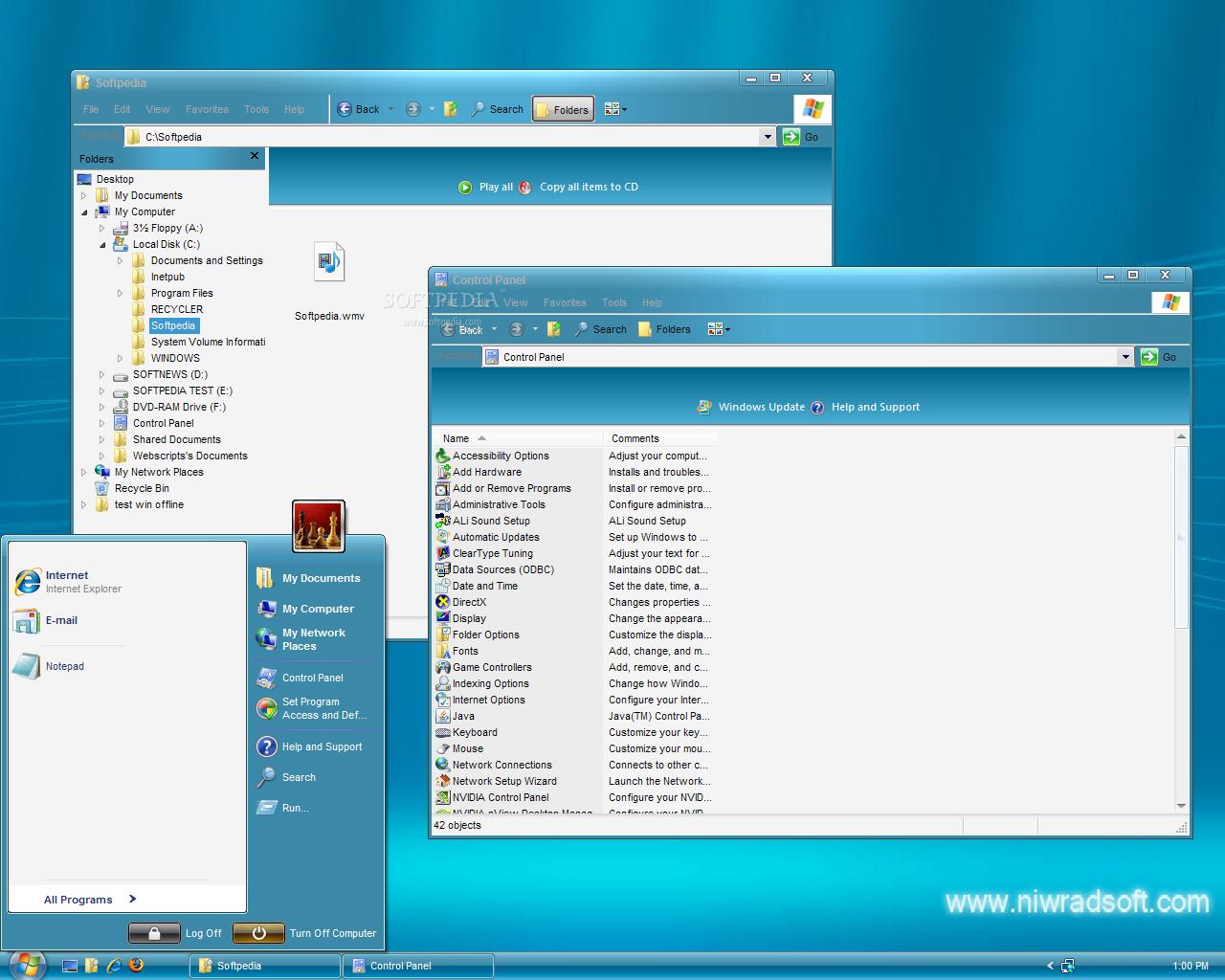 Download Vista Live Shell Pack - Blue 2 5 1