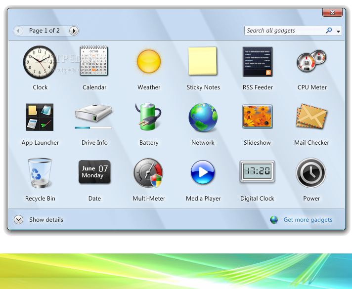 vista rainbar 4.6