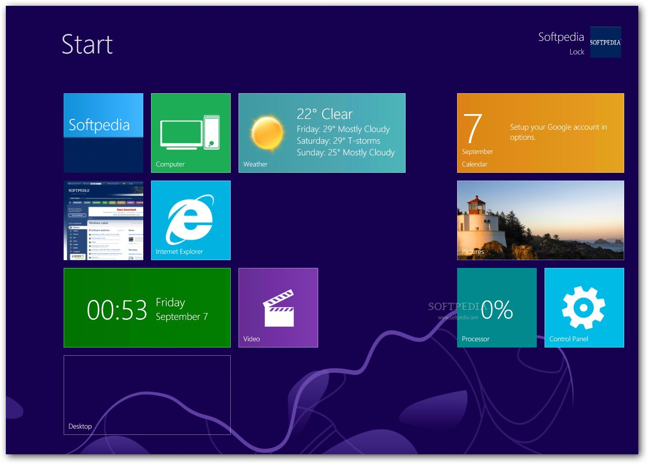 Transformation pack for windows 7 to windows 8.
