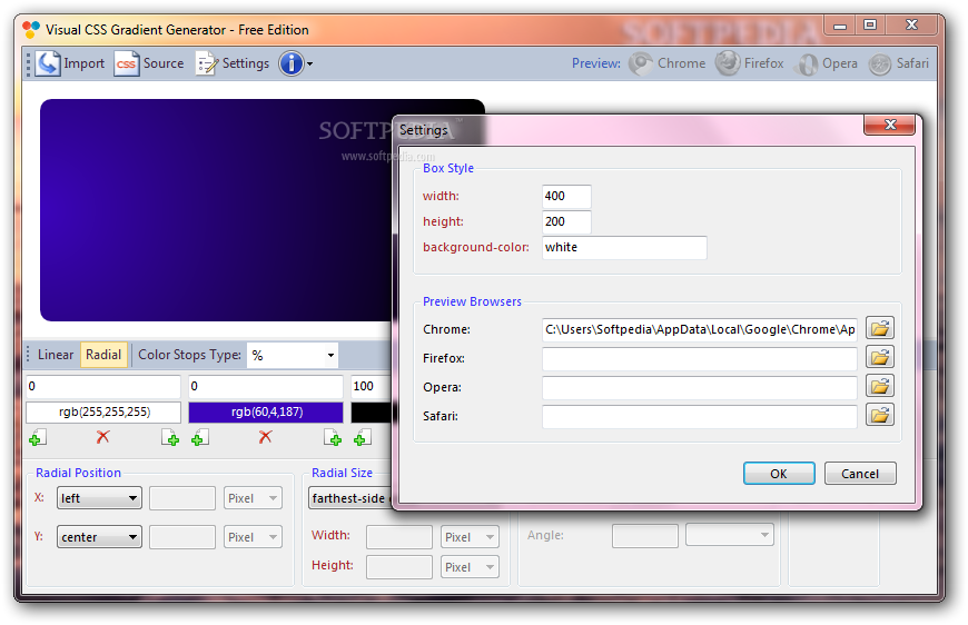Download Visual CSS Gradient Generator 1 0 0 0