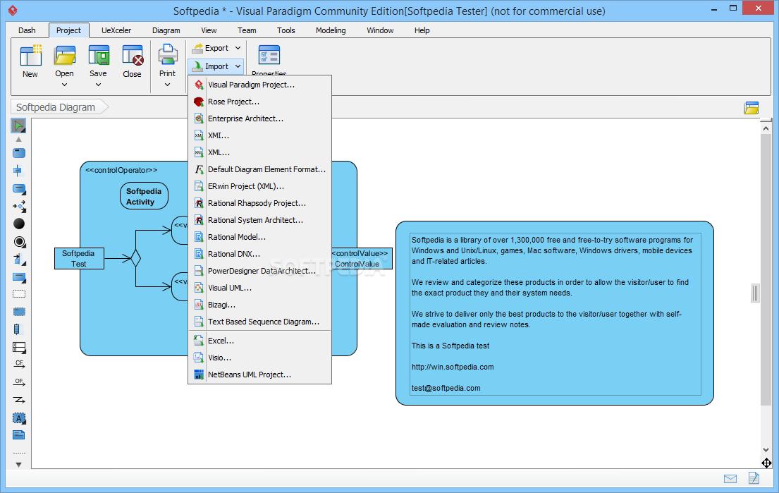 visual paradigm for uml 10.0 community edition