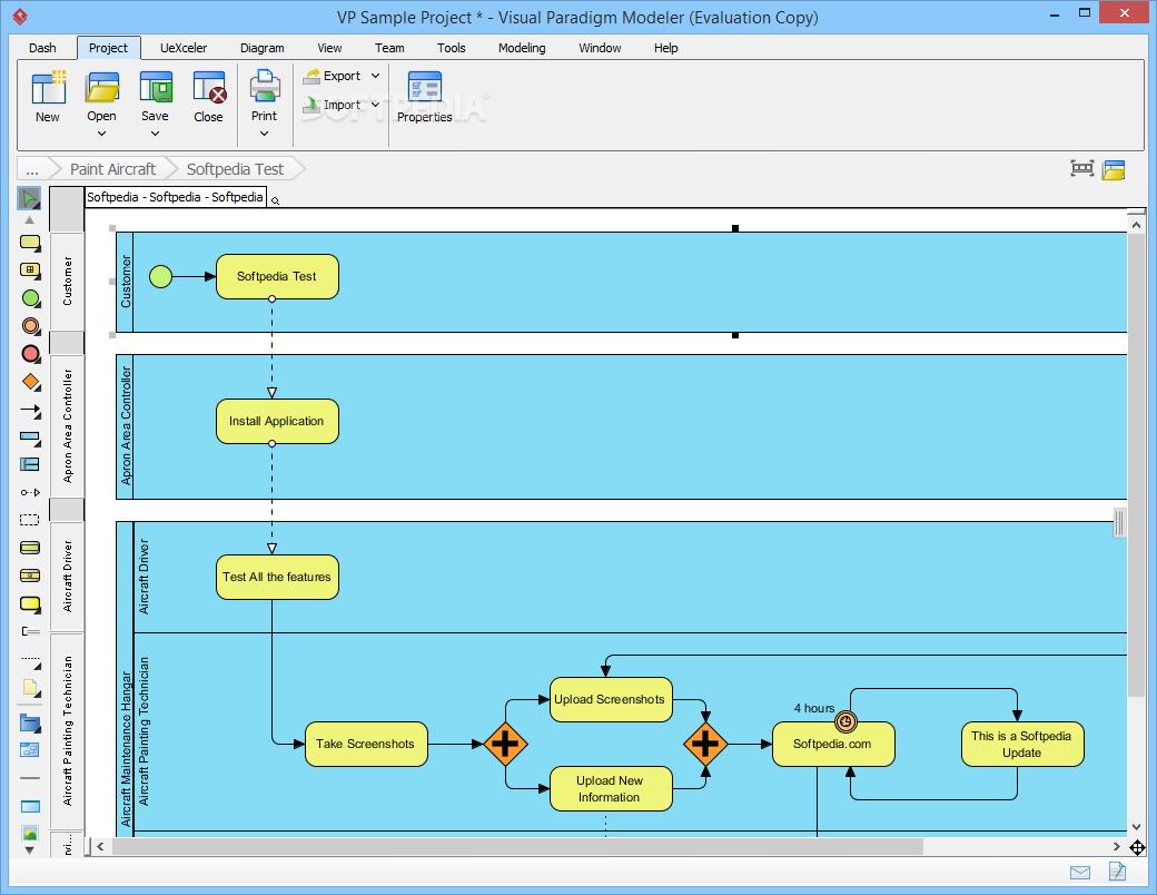 Download Visual Paradigm Modeler Edition 15.2 Build 20190701