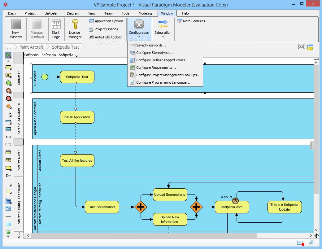 Download Visual Paradigm Modeler Edition 15 1 Build 20181005