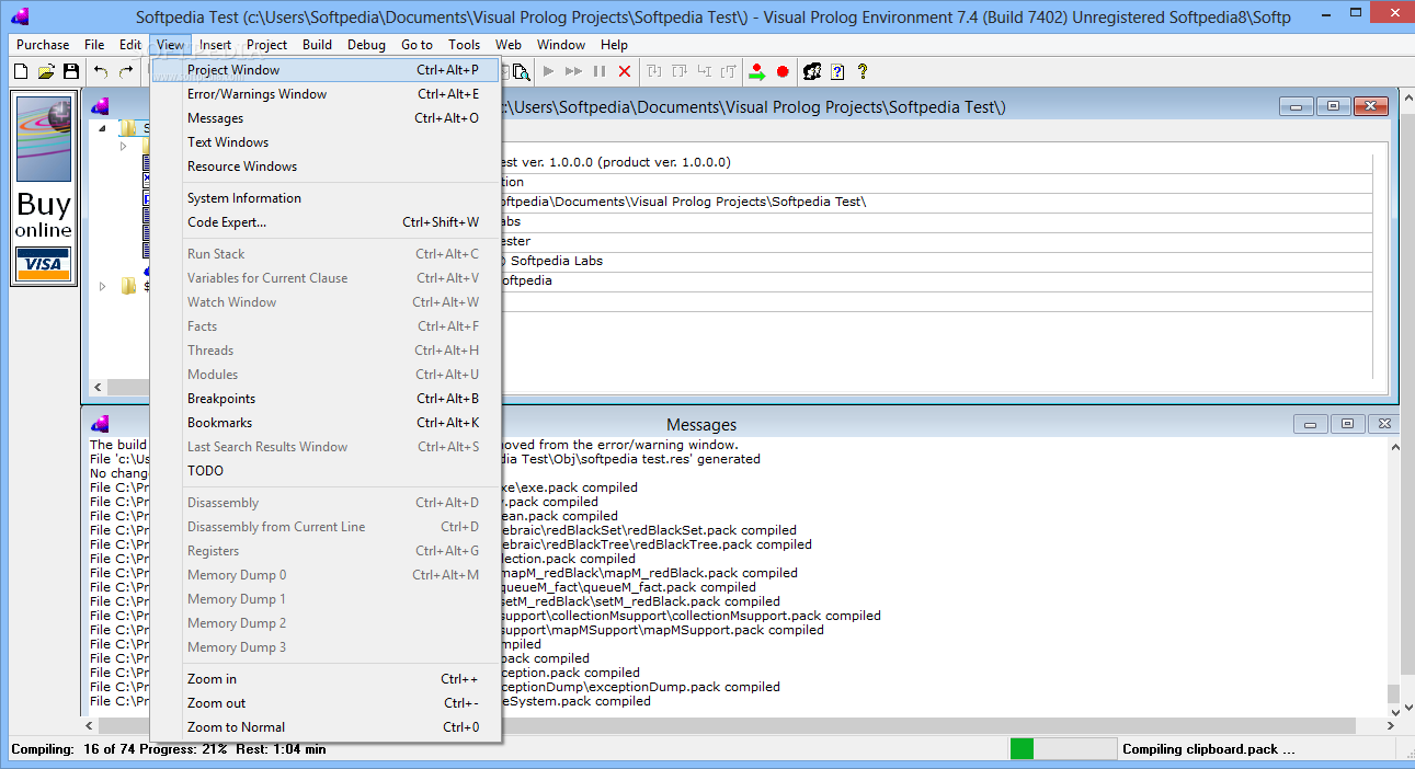 Download Visual Prolog 9 Build 902
