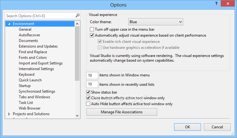 how to create windows form application in visual studio 2017