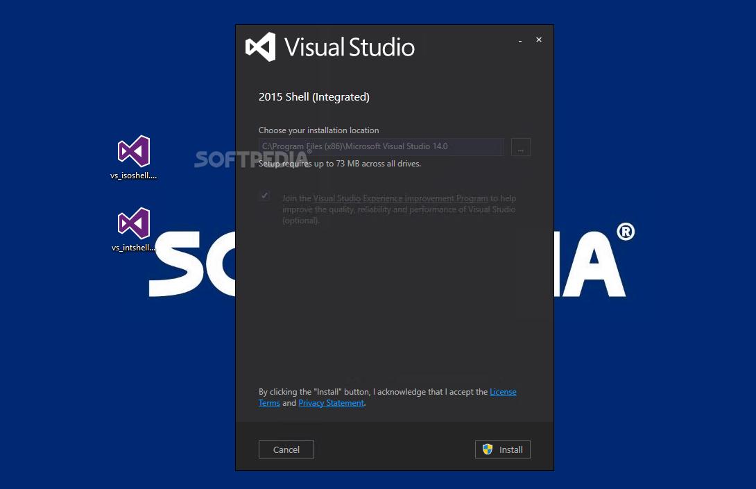 Visual studio shell 2014 download | Download Visual Studio