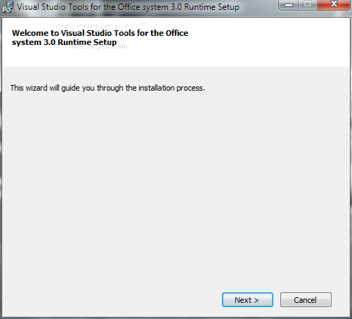 Download Visual Studio 2010 Tools for Office Runtime 4 0