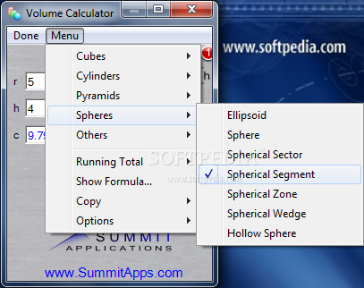 Download Volume Calculator 1 0
