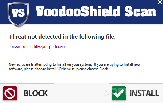 VoodooShield screenshot 2 - You can configure the Settings of VoodooShield using this window.
