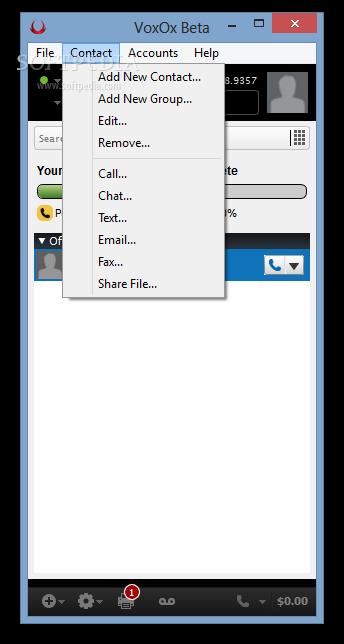 Download VoxOx 2 9 2 rev5632 Beta