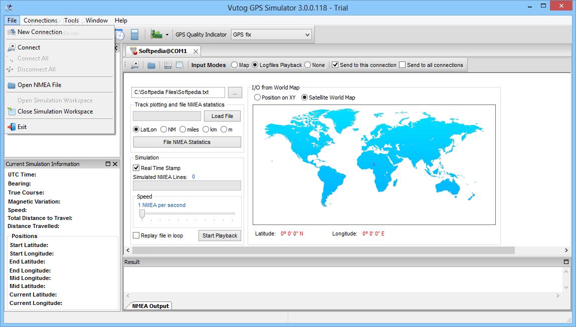 Download Vutog GPS Simulator 4 0 0 100