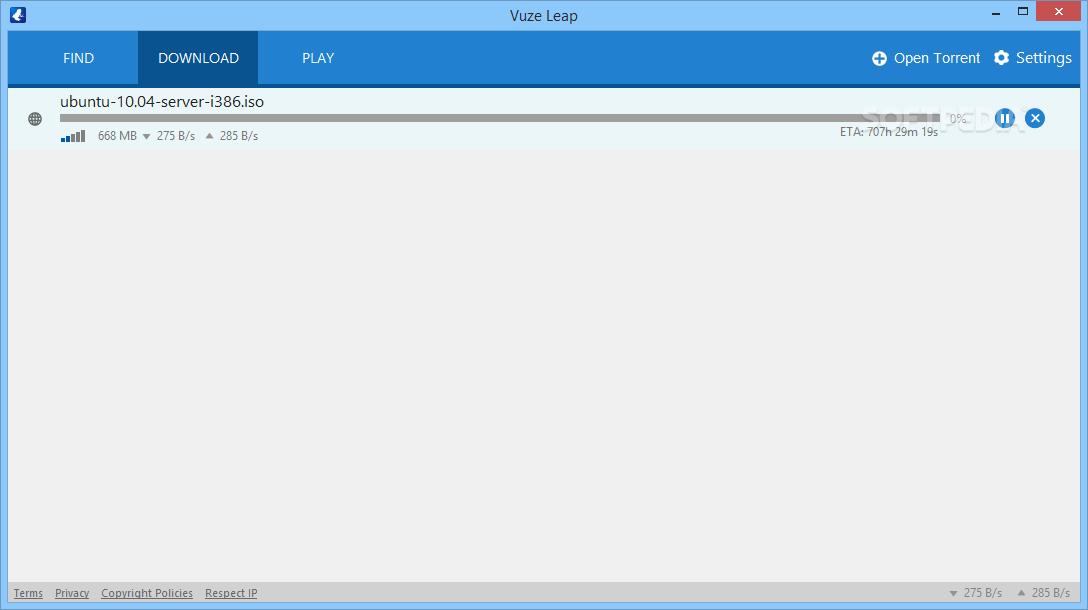 Download Vuze Leap 2 6 0 1