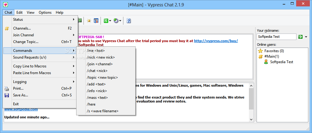 Vypress chat 2.1.9