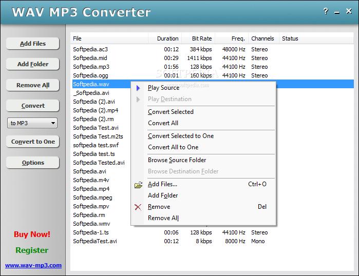 Convert WAV to MP4 online, free .wav to .mp4 changing