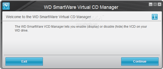 Download WD SmartWare Virtual CD Manager 1 0 8 3