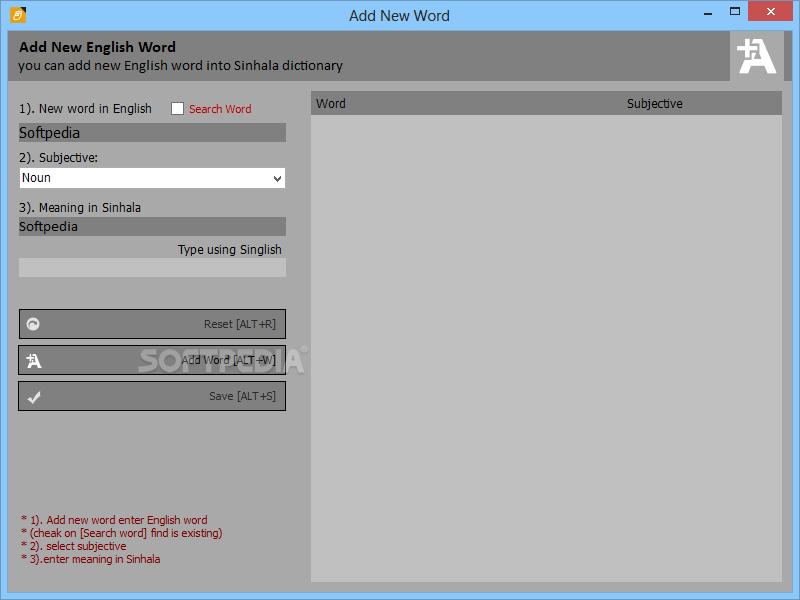 Download WIDHURA Dictionary 2015 1 0 6 0